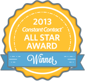 The Constant Contact All Star award for 2012.